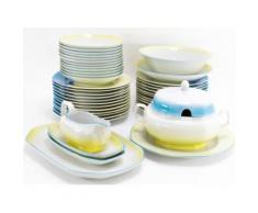 Service de table Vaisselle en porcelaine de Baviere pour 12 personnes 44 pieces Miya - vaisselle