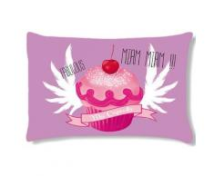 Coussin rectangulaire CUPCAKES Miam miam by Cbkreation - Rideaux et stores