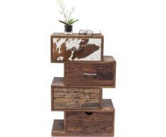 Chiffonnier Rodeo Zickzack 4 tiroirs Kare Design - Objet à poser