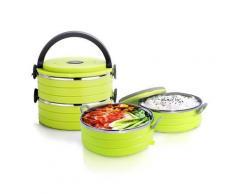 Lunch box thermique à double compartiments de stockage - Conservation