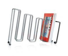 Porte-revues chromé Pila horizontal ou vertical - Autres