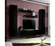 paris prix - meuble tv mural design 'fly i' 260cm noirparis prix - meuble tv mural design 'fly i' 260cm noir - autres