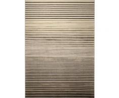 Tapis rayé Nifty Stripes par Esprit motif Rayé Beige 160x225 - Tapis et paillasson
