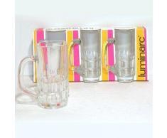 ARC - Bocks à bière x 3 en verre GOTHIQUE Luminarc - Verrerie