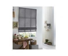 Store Bateau Lin - 60 x 220cm-Gris - Fenêtres et volets
