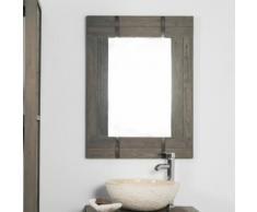 Miroir de salle de bain LOFT 60x80 gris - Miroir