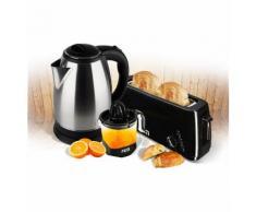 Kit petit déjeuner XXL - Bouille 1.8L + Grille pain longue fente + Presse-agrumes XXL 1L - Petit-déjeuner