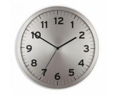 Horloge murale silencieuse en métal UMBRA Gris - Décoration murale
