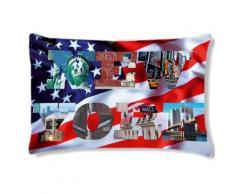 Coussin rectangulaire Usa by CBK - Rideaux et stores
