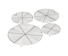 Grille ronde avec 3 pieds professionnelle à 360 mm de diamètre - Accessoires appareil de cuisson