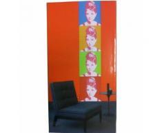 Decor Mural Adhesif Audrey Hepburn - Boite de rangement