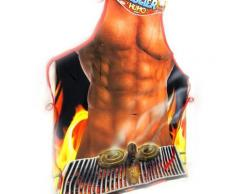 Tablier humoristique 'Homme Barbecue' - Autres