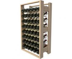 VISIORACK - Meuble de rangement en bois de 48 bouteilles - ACI-VIS301 - nologie