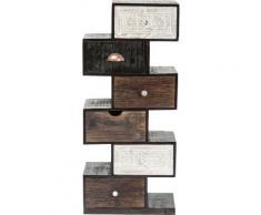 Chiffonnier Zick Zack Finca 6 tiroirs Kare Design - Objet à poser