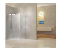 Paroi de douche avec porte coulissante - Range Elegant - Installations salles de bain