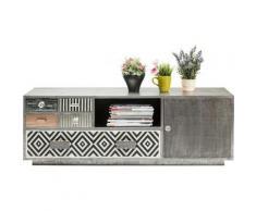Meuble TV Chalet 1 porte, 5 tiroirs Kare Design - Objet à poser