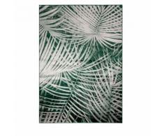 Tapis motif palmier vert Palm by Day Zuiver - Dimensions - 170x240 cm - Tapis et paillasson