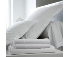 Taie d'oreiller Percale Easy BLANC DES VOSGES 65 x 65 cm Blanc - Linge de lit
