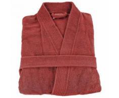 Peignoir de bain col kimono uni 420gr/m² coton sensei - Linge de bain