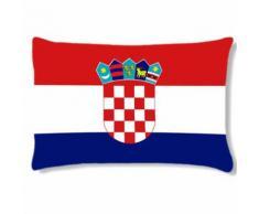 Grand coussin rectangulaire Croatie by Cbkreation - Textile séjour