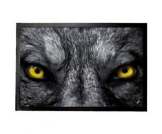 Loups Paillasson Essuie-Pieds - Regarde-Moi Bien Dans Les Yeux (40x60 cm) - Tapis et paillasson