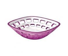 Corbeille à pain - Guzzini - Panier de table violet - platerie, service