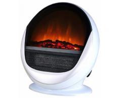 Cheminee elctrique pop fire blanche - Lampes