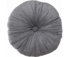 Paris prix - coussin déco 'mémories' 40cm gris foncé - Textile séjour