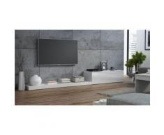 ensemble meuble tv design lime ii - blancensemble meuble tv design lime ii - blanc - autres