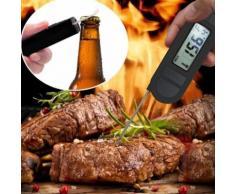 Numérique alimentaire Thermomètre de cuisson instantanée viande thermomètre pour la cuisine BBQ_Kiliaadk30 - Accessoires de rangement