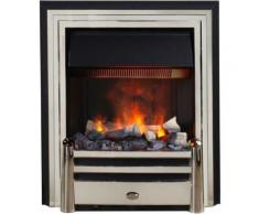 Foyer de cheminée électrique encastrable effet fumée optimyst hemmet 1000 à 2000w - Cheminées, poêles