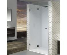 Porte pliante de douche universelle RIHO SCANDIC S105 90x200 cm en verre clair - Installations salles de bain