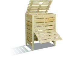 Composteur Bois 400 L BURGER - Composteurs et accessoires compostage