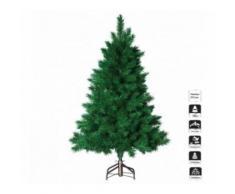 Sapin de Noël CRYSTAL vert 210 cm de hauteur - Objet à poser