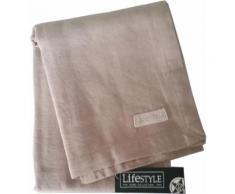 Lifestyle Home Collection - Chemin de table en lin Crème - Linge de table