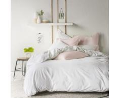 Taie d'oreiller coton lavé Soft Line ESSIX - 65 x 65 cm - Linge de lit