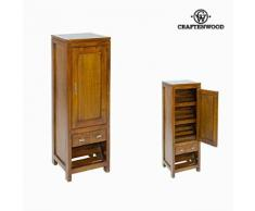 Meuble à chaussures avec porte et tiroirs - Collection Serious Line by Craften Wood - Armoire