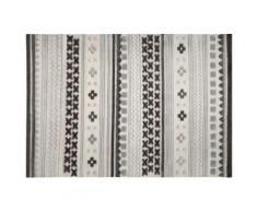 Tapis Ethnic Chic de chez Esprit motif Ethnique Gris 60x110 - Tapis et paillasson