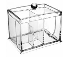 Paris prix - boite rangement cosmétique 4 compartiments - Accessoires salles de bain et WC