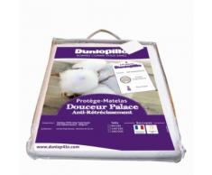Protège Matelas Douceur Palace Dunlopillo 90X190 Cm - Linge de lit