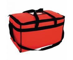 Grand sac à pizza isotherme 355x380x580mm vogue - Boite de rangement