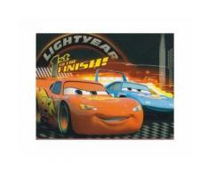 Disney Cars - Couverture polaire - Enfant (120cm x 150cm) (Rouge/Bleu/Noir) - UTKF131 - Linge de lit