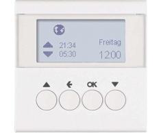 HAGER Minuteur pour store le sans B Polar Blanc mat - Équipements électriques pour luminaire