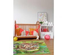 Tapis enfant jeu circuit CONNECTE MOYEN-AGE Tapis Enfants par House Of Kids 100 x 150 cm - Tapis et paillasson
