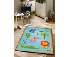 Tapis epais dessin animaux pour chambre d'enfant ZOO Undefined par Esprit 140 x 200 cm - Tapis et paillasson
