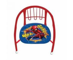 Chaise en metal Spiderman fauteuil enfant - Chaise