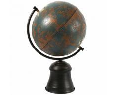 Décoration Globe Terrestre Bleu 41 cm - Objet à poser