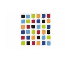 OPPORTUNITY 11K10000010 Rideau de douche Colorama PEVA 180x200 cm Blanc/bleu/rouge/jaune/orange/vert/noir - Accessoires salles de bain et WC