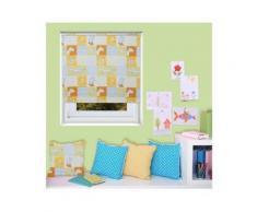 Store Enfant Enrouleur Occultant Ourson Blanc - Fenêtres et volets