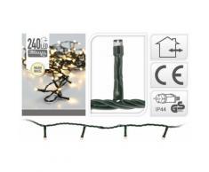 Eclairage LED 240 lampes blanc chaud intérieur / extérieur - Objet à poser